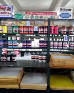 Silk Screen Supplies